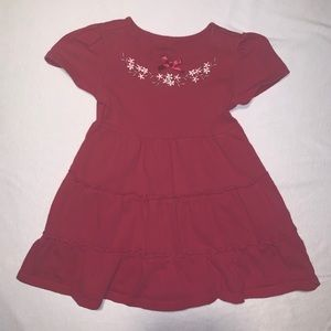 Baby Girls Burgundy Dress